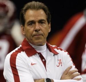 Alabama Coach Nick Saban